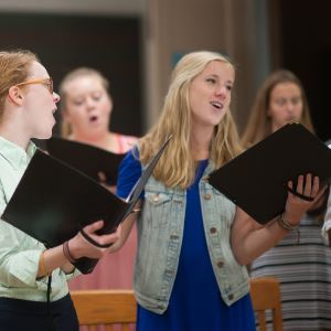 Poetry and music — students prepare for delightful spring concerts