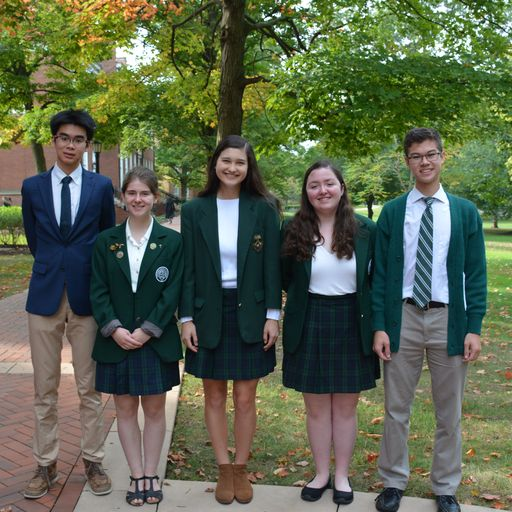 Five WRA seniors named Semifinalists in the 2020 National Merit® Scholarship Program