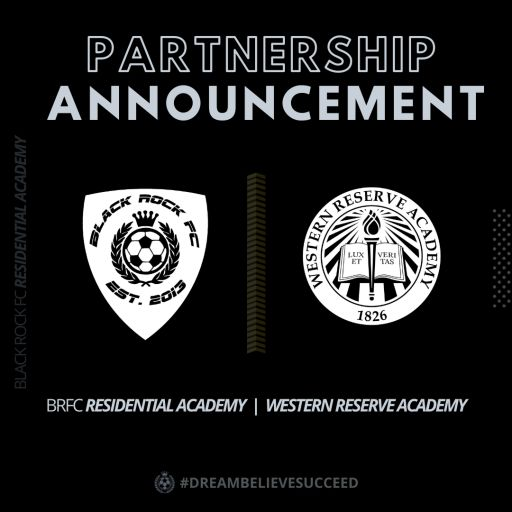 Western Reserve Academy Kicks Off Partnership with Black Rock Football Club